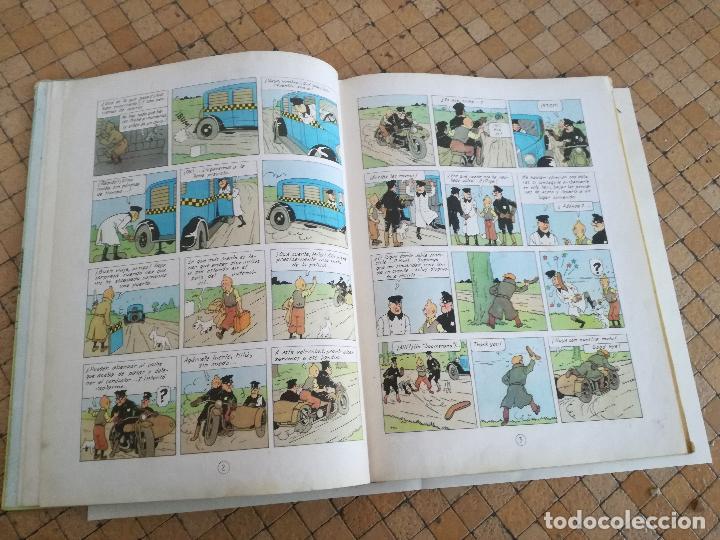 Cómics: TINTIN EN AMÉRICA 1ª PRIMERA EDICIÓN 1968. JUVENTUD. LOMO EN TELA - Foto 7 - 190780203