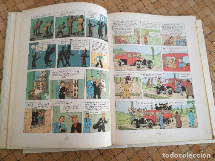 Cómics: TINTIN EN AMÉRICA 1ª PRIMERA EDICIÓN 1968. JUVENTUD. LOMO EN TELA - Foto 8 - 190780203