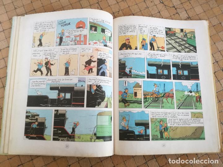 Cómics: TINTIN EN AMÉRICA 1ª PRIMERA EDICIÓN 1968. JUVENTUD. LOMO EN TELA - Foto 9 - 190780203