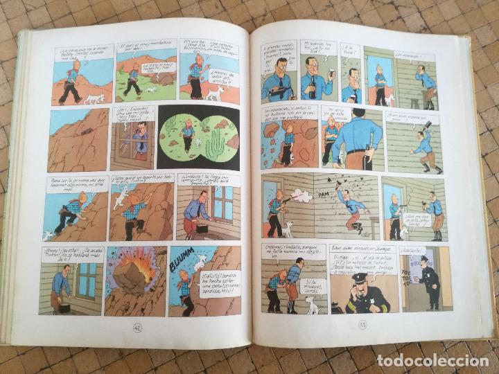 Cómics: TINTIN EN AMÉRICA 1ª PRIMERA EDICIÓN 1968. JUVENTUD. LOMO EN TELA - Foto 10 - 190780203