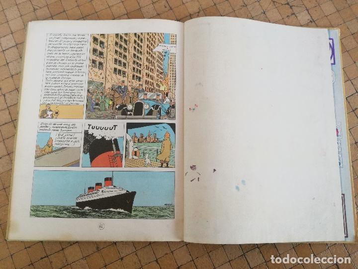 Cómics: TINTIN EN AMÉRICA 1ª PRIMERA EDICIÓN 1968. JUVENTUD. LOMO EN TELA - Foto 11 - 190780203