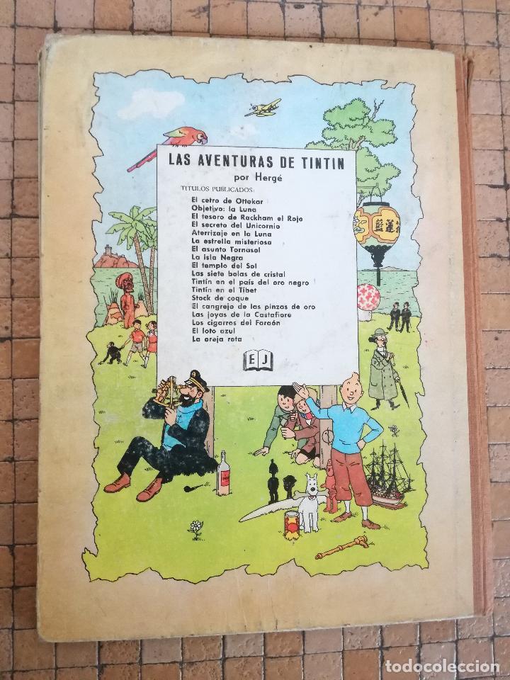Cómics: TINTIN EN AMÉRICA 1ª PRIMERA EDICIÓN 1968. JUVENTUD. LOMO EN TELA - Foto 13 - 190780203
