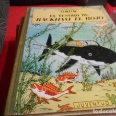 Cómics: TINTIN EL TESORO DE RACKHAM EL ROJO - 4 EDICION 1967. Lote 190852611