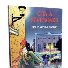 Cómics: CITA A SEVENOAKS (FLOCH / RIVIÈRE) JOVENTUD, 1992. Lote 190357920