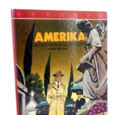 Comics: BERTHET: EL DETECTIU DE HOLLYWOOD 4. AMERIKA (RIVIÈRE / BOCQUET) JOVENTUD, 1993. Lote 190357935