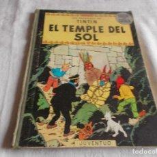 Cómics: TINTIN EL TEMPLE DEL SOL 1ª EDICIÓN . Lote 191000908