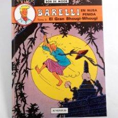 Cómics: BARELLI. EN NUSA PENIDA. TOMO 3. EL GRAN BHOUGI- WHOGUI. BOB DE MOOR. 1991. NUEVO. Lote 191114050