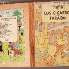 Cómics: HERGÉ : TINTIN . LOS CIGARROS DEL FARAON 2ª EDICION 1965 ED. JUVENTUD.VER FOTOS Y DETALLES. Lote 191312625