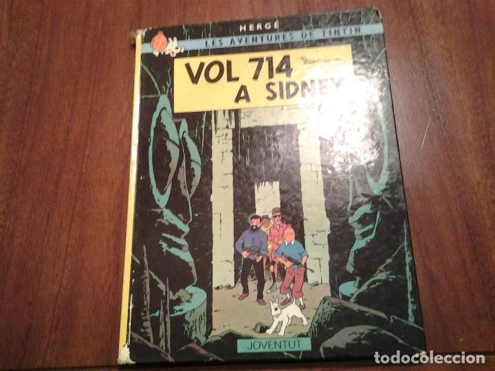 TINTIN EN EL TIBET (CASTELLANO) - VOL 714 A SIDNEY (CATALAN) - VER DESCRIPCION Y FOTOS (Tebeos y Comics - Juventud - Tintín)
