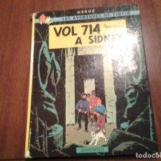 Cómics: TINTIN EN EL TIBET (CASTELLANO) - VOL 714 A SIDNEY (CATALAN) - VER DESCRIPCION Y FOTOS. Lote 191635495