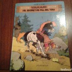 Cómics: YAKARI - I EL SECRET DE FILL DEL TRO Nº 6 - AL PAIS DELS LLOPS Nº 8 - ED. JOVENTUT - EN CATALAN. Lote 191636770