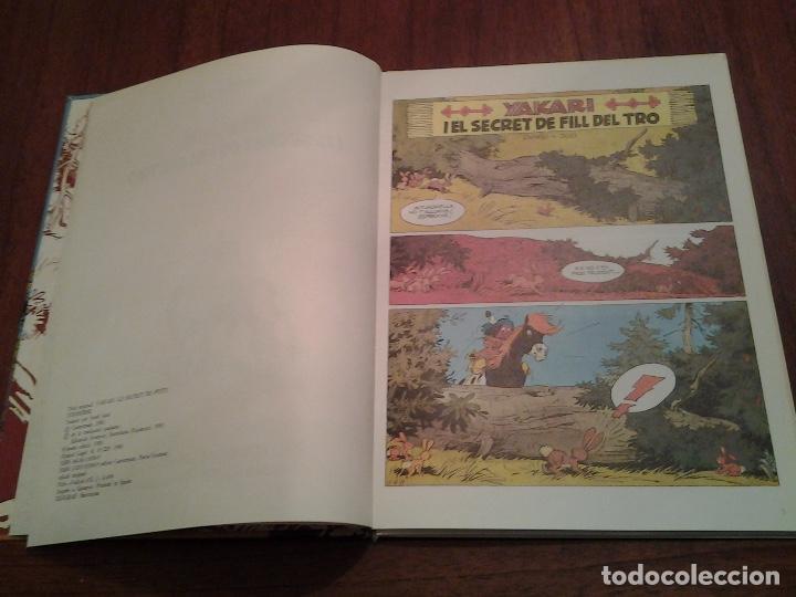 Cómics: YAKARI - I EL SECRET DE FILL DEL TRO Nº 6 - AL PAIS DELS LLOPS Nº 8 - ED. JOVENTUT - EN CATALAN - Foto 5 - 191636770