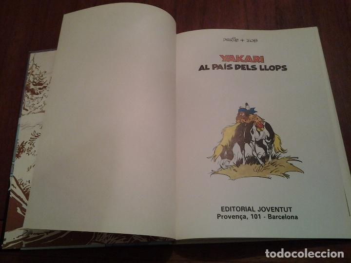 Cómics: YAKARI - I EL SECRET DE FILL DEL TRO Nº 6 - AL PAIS DELS LLOPS Nº 8 - ED. JOVENTUT - EN CATALAN - Foto 20 - 191636770