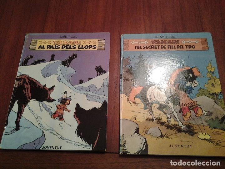 Cómics: YAKARI - I EL SECRET DE FILL DEL TRO Nº 6 - AL PAIS DELS LLOPS Nº 8 - ED. JOVENTUT - EN CATALAN - Foto 22 - 191636770