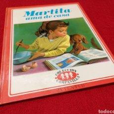 Cómics: MARTITA AMA DE CASA COLECCIÓN CAMPANILLA.EDITORIAL JUVENTUD 1977. Lote 191670176