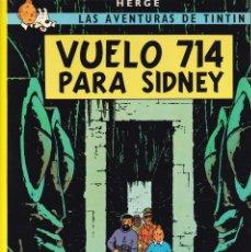Cómics: TINTIN - VUELO 714 PARA SIDNEY - HERGÉ - EDITORIAL JUVENTUD 2003. Lote 222469387