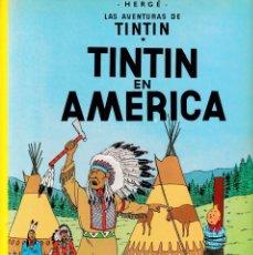 Cómics: TINTIN - TINTIN EN AMÉRICA - HERGÉ - EDITORIAL JUVENTUD 2003. Lote 192122083