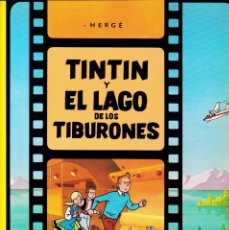 Cómics: TINTIN - TINTIN Y EL LAGO DE LOS TIBURONES - HERGÉ - EDITORIAL JUVENTUD 2003. Lote 192122185