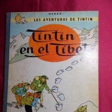 Cómics: LAS AVENTURAS DE TINTIN. TINTIN EN EL TIBET . CUARTA (4ª) EDICION. 1970. JUVENTUD. Lote 192509838
