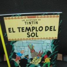 Cómics: LAS AVENTURAS DE TINTIN. EL TEMPLO DEL SOL. EDITORIAL JUVENTUD 2012.. Lote 192548226