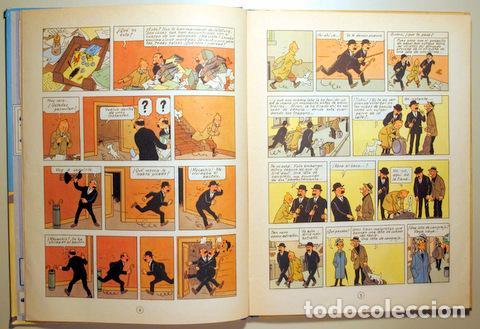Cómics: HERGÉ - LAS AVENTURAS DE TINTIN. EL CANGREJO DE LAS PINZAS DE ORO - Barcelona 1971 - Muy ilustrado - - Foto 4 - 192549320