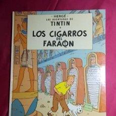 Fumetti: LAS AVENTURAS DE TINTIN. LOS CIGARROS DEL FARAON . QUINTA (5ª) EDICION. 1977. RESERVADO NO COMPRAR. Lote 192595033