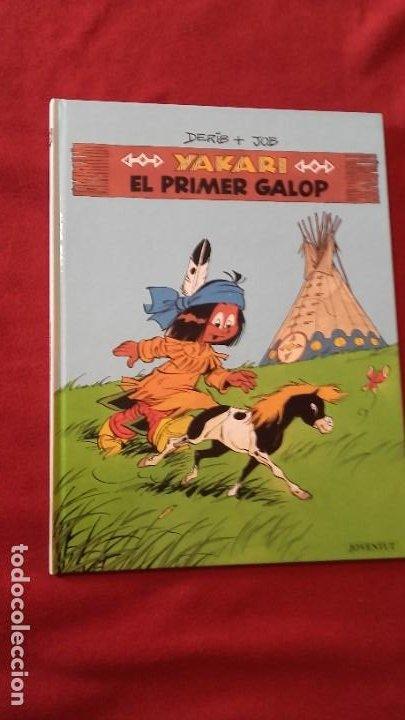 YAKARI 16 - EL PRIMER GALOP - DERIB & JOB - CARTONE - EN CATALAN (Tebeos y Comics - Juventud - Yakary)