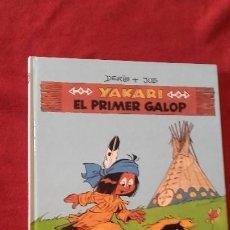 Cómics: YAKARI 16 - EL PRIMER GALOP - DERIB & JOB - CARTONE - EN CATALAN. Lote 192700376