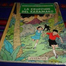 Cómics: JO ZETTE Y JOCKO EL RAYO MISTERIOSO 2º EPISODIO LA ERUPCIÓN DEL KARAMAKO JUVENTUD 1ª PRIMERA ED 1971. Lote 192780128