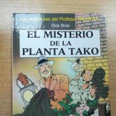 Cómics: LAS AVENTURAS DEL PROFESOR PALMERA EL MISTERIO DE LA PANTA TAKO. Lote 192926372