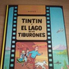 Cómics: TINTIN Y EL LAGO DE LOS TIBURONES - EDITORIAL JUVENTUD 3ª EDICIÓN 1978. Lote 192937813