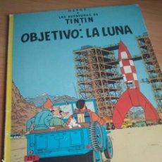 Cómics: TINTÍN OBJETIVO: LA LUNA - EDITORIAL JUVENTUD 7ª EDICIÓN 1979. Lote 192937878
