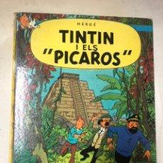 Cómics: LAS AVENTURAS DE TINTIN TINTIN I ELS PICAROS EN CATALÁN HERGE JUVENTUD SEGUNDA EDICIÓN 2A. Lote 193171407