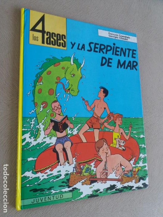 LOS 4 ASES Y LA SERPIENTE DE MAR JUVENTUD Nº 1 (Tebeos y Comics - Juventud - Otros)