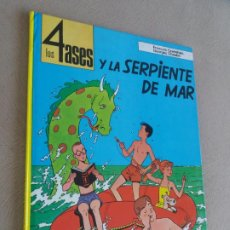 Cómics: LOS 4 ASES Y LA SERPIENTE DE MAR JUVENTUD Nº 1. Lote 193327943