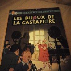 Cómics: TINTIN LES BIJOUX DE LA CASTAFIORE 1963 CASTERMAN,FRANCES. Lote 193360207