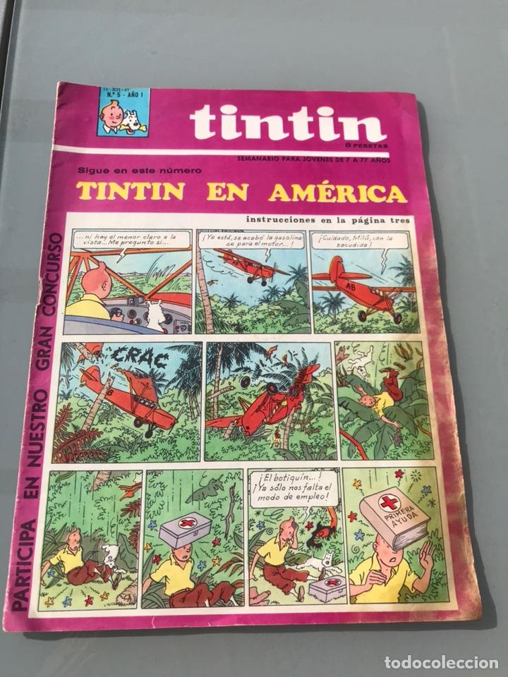 TINTIN EN AMÉRICA (Tebeos y Comics - Juventud - Tintín)