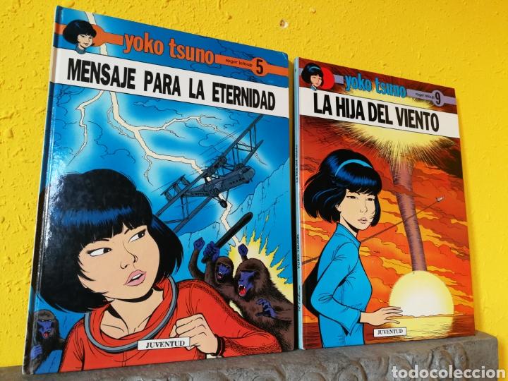 YOKO TSUNO LOTE 2 CÓMICS:LA HIJA DEL VIENTO +MENSAJE PARA LA ETERNIDAD.ED.JUVENTUD (Tebeos y Comics - Juventud - Yoko Tsuno)
