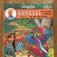 Cómics: ¡¡REMATE!! - BARELLI EN NUSA PENIDA - BOB DE MOR - JUVENTUD - TAPA DURA - GCH1. Lote 193679583