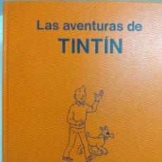 Cómics: LAS AVENTURAS DE TINTIN/JUVENTUD-STUDIO CREDILIBRO COLECCION DE 5 TOMOS DE HERGE.. Lote 193717120