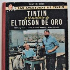 Comics : TINTIN Y EL MISTERIO DE EL TOISON DE ORO - TINTIN CINE - SEGUNDA EDICIÓN NOVIEMBRE 1968 - LOMO TELA. Lote 193942720