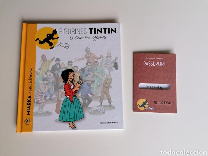 LIBRETO COLECCIÓN FIGURAS TINTIN -MIARKA LA NIÑA GITANA- N°91 (Tebeos y Comics - Juventud - Tintín)