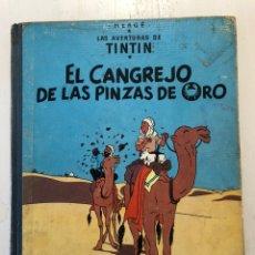 Cómics: TINTIN EL CANGREJO DE LAS PINZAS DE ORO 2A EDICION 1966. Lote 194059132