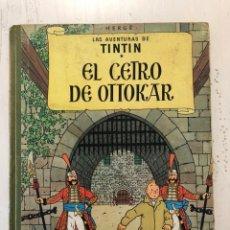 Cómics: TINTIN EL CETRO DE OTTOKAR 2A EDICION 1964. Lote 194059298