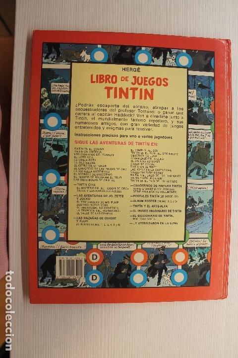 Cómics: tintIN, LIBRO DE JUEGOS, HERGE, SEGUNDA EDICIÓN - Foto 2 - 194113738