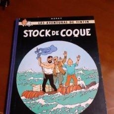 Cómics: TINTIN STOCK DE COQUE PRIMERA EDICION 1962. Lote 194120673
