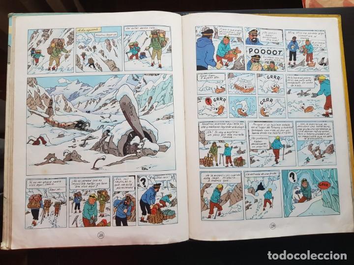 Cómics: TEBEO / CÓMIC TINTIN EN EL TIBET LOMO TELA ORIGINAL 4 EDICIÓN 1970 JUVENTUD - Foto 5 - 194229560