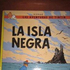 Cómics: TINTIN - LA ISLA NEGRA - TAPA DURA. Lote 194311955