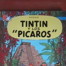 Cómics: TINTIN Y LOS PICAROS - TAPA DURA. Lote 194312027