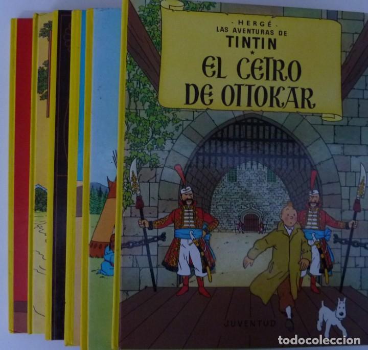 TINTIN / LOTE DE 6 LIBROS DE TINTIN //TAPA DURA // (Tebeos y Comics - Juventud - Tintín)